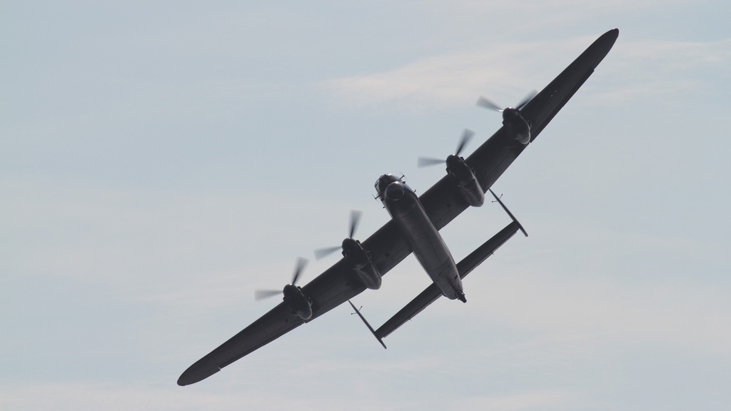 Lancaster Bomber Dawlish Air Day