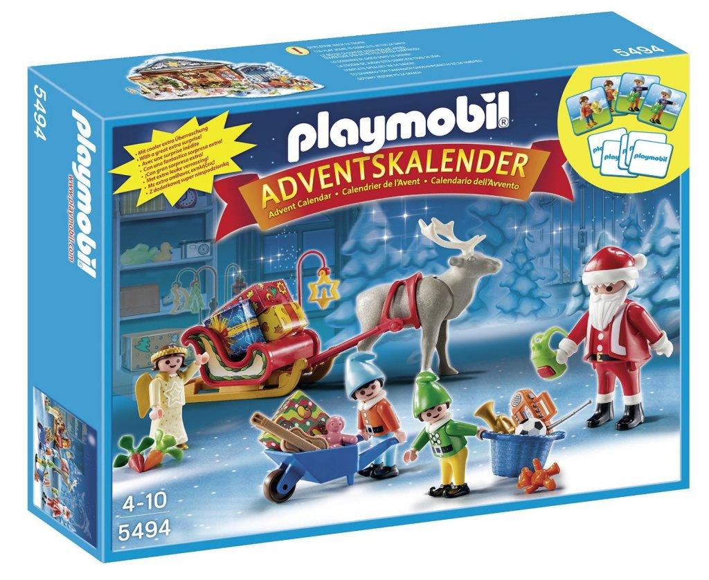 Playmobil Santas Workshop Advent Calendar