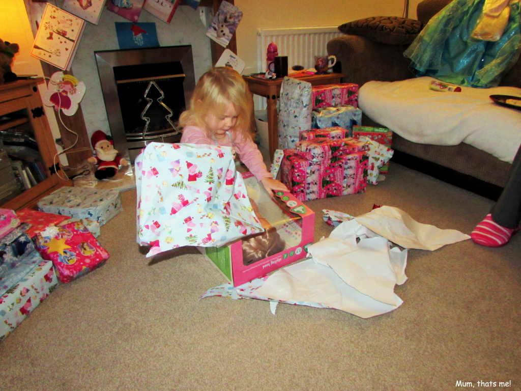 Present opening