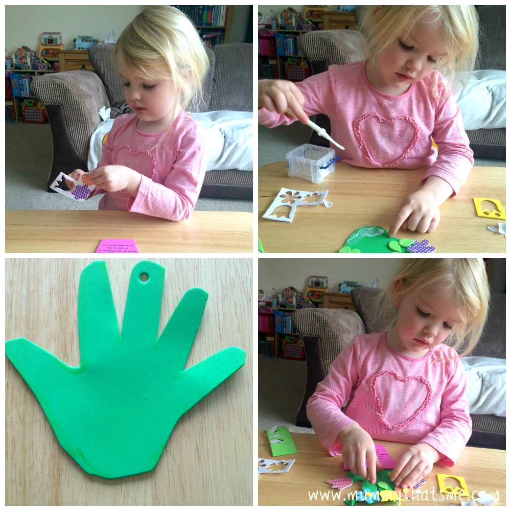 Baker Ross handprint craftt