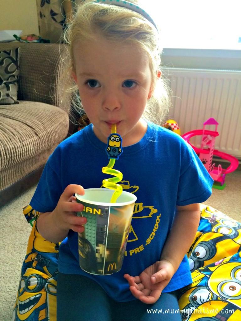 Minions straw
