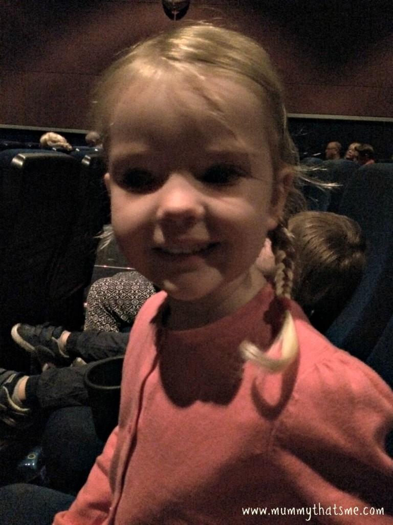 E at the cinema