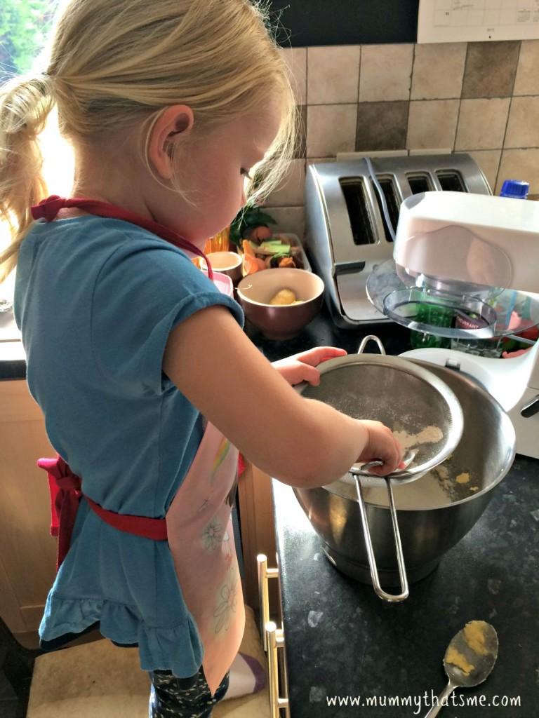 Emily baking