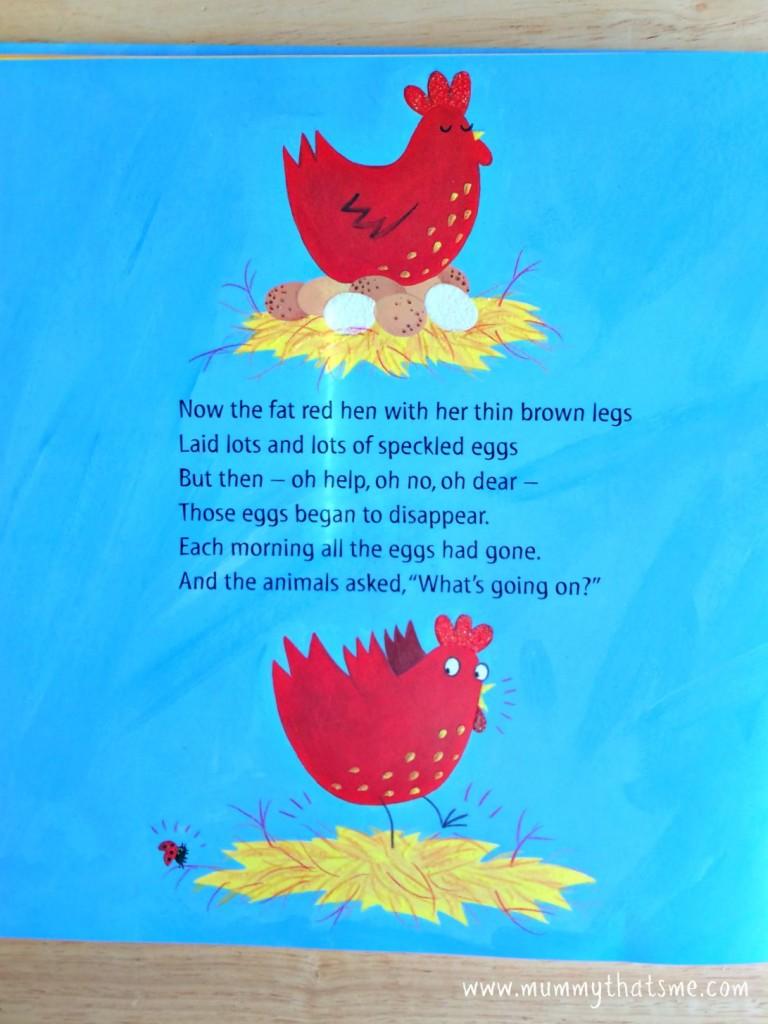 Fat Red Hen