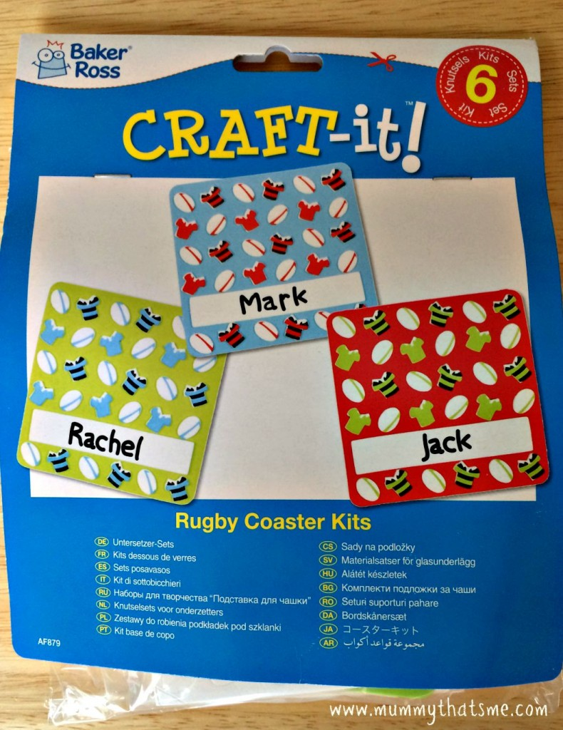 Rugby Coaster Kits