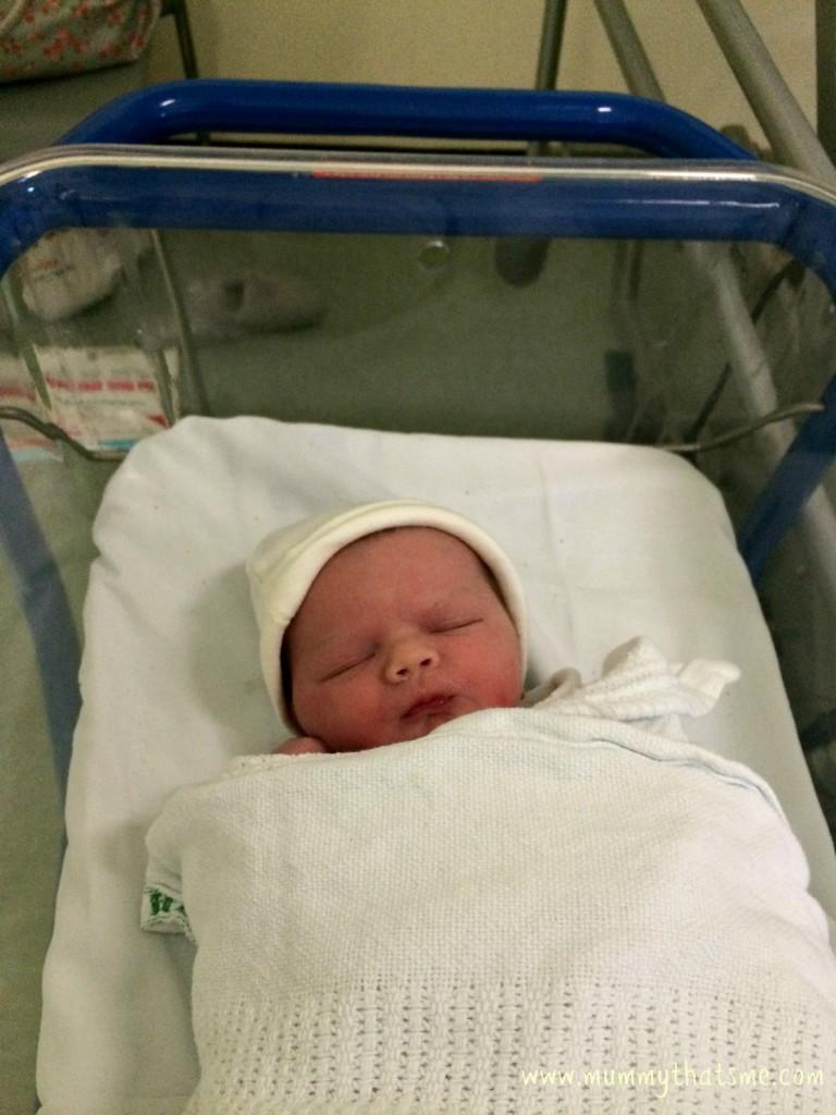 Joahua just born
