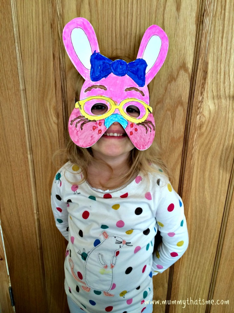 Baker Ross Colour in bunny mask