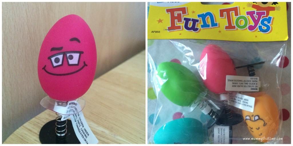 Baker Ross Funny Face Egg Toys