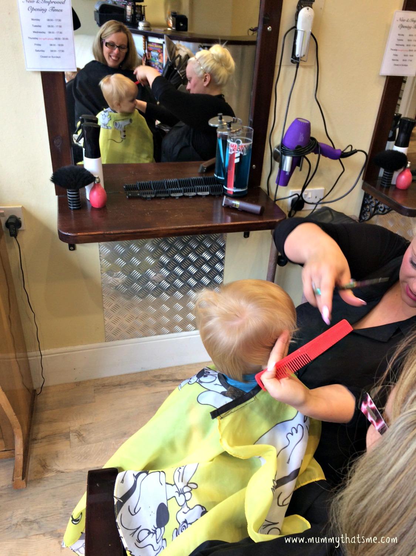 First Hair Cut