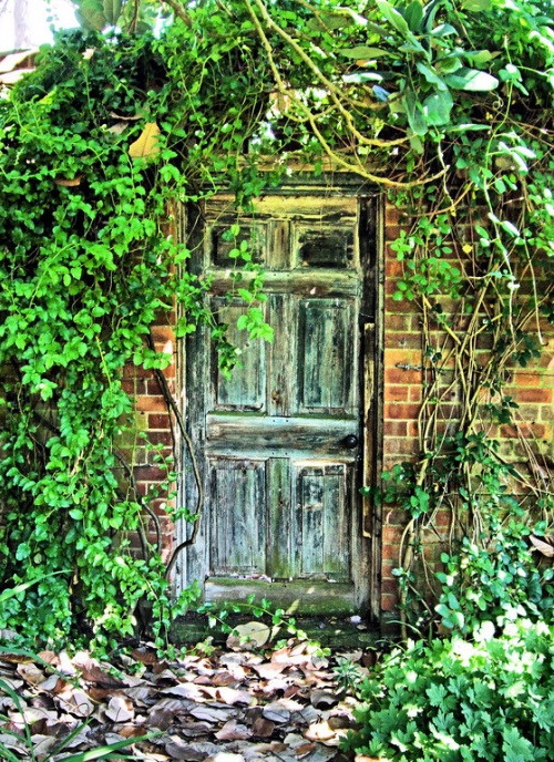 The secret garden door