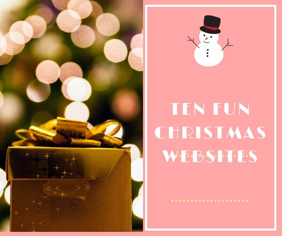 Ten Fun Christmas Websites To visit! - Mum, Thats Me