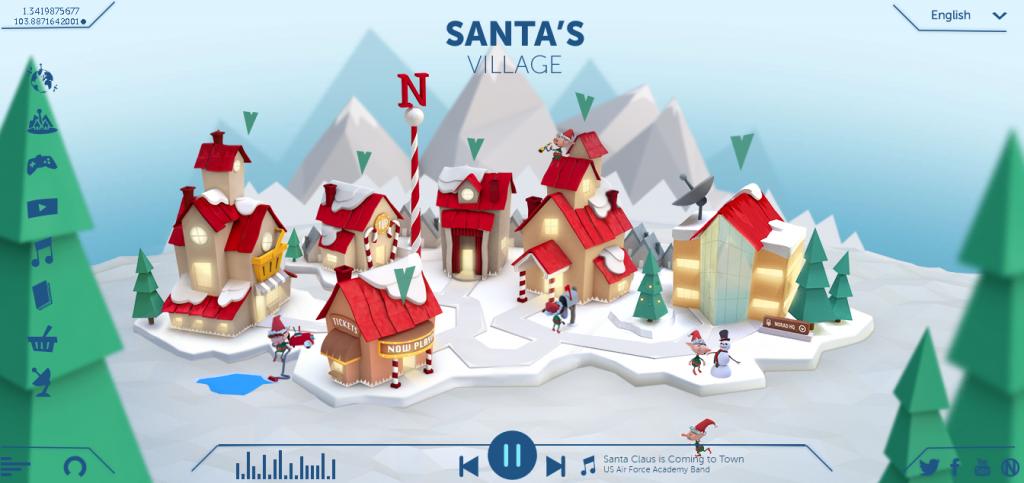 Track Santa With Nordad