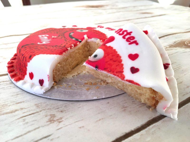 Baker Days Valentines Cake