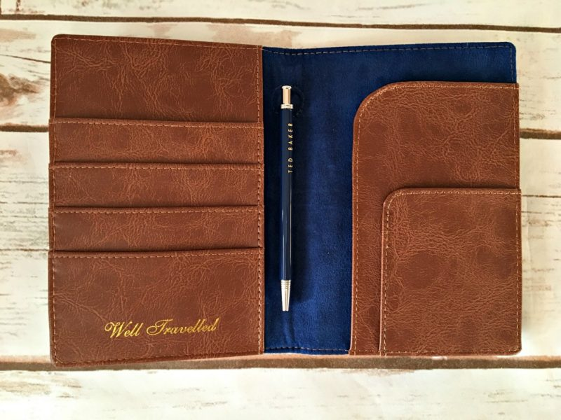 Competition to win a ted baker travel wallet