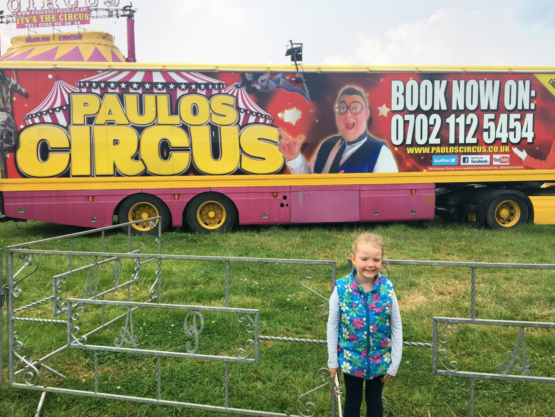 Paulous Circus at Darts Farm