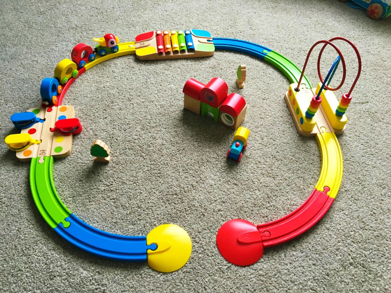Hape Sights and Sounds Railway Set