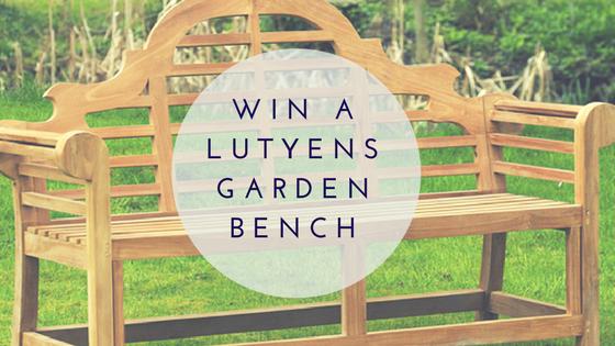 Win a Lutyens garden bench