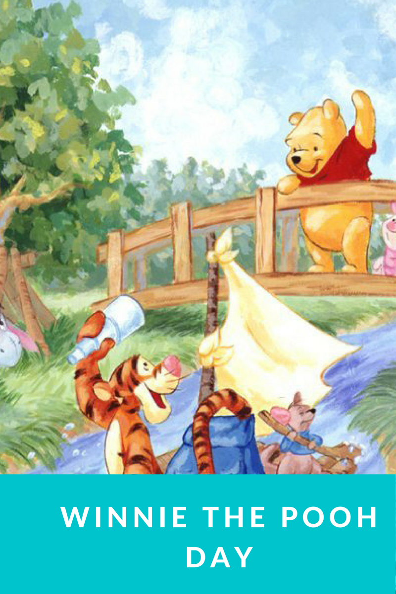 Winnie the pooh day feature