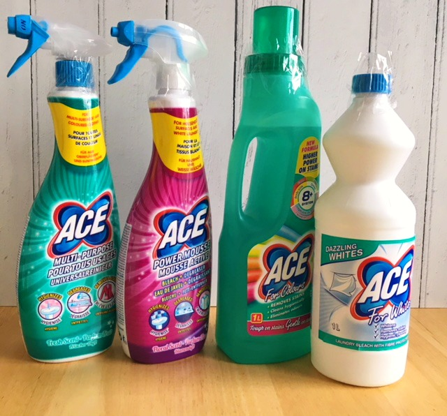 Ace Cleaning products