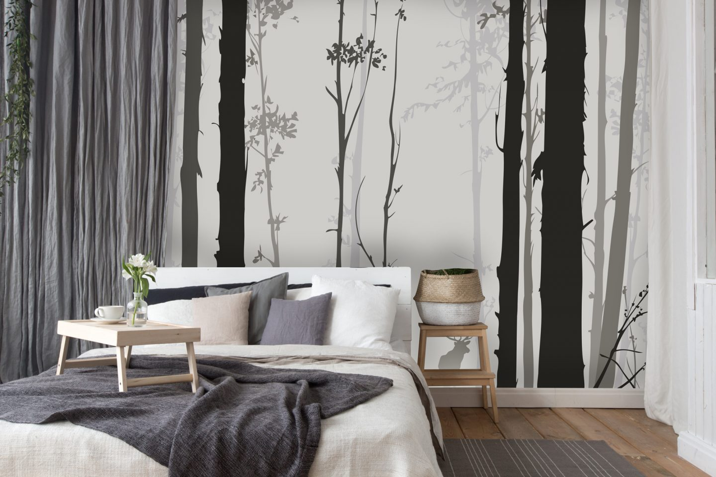 Decorating a Feature Wall With Wallsauce