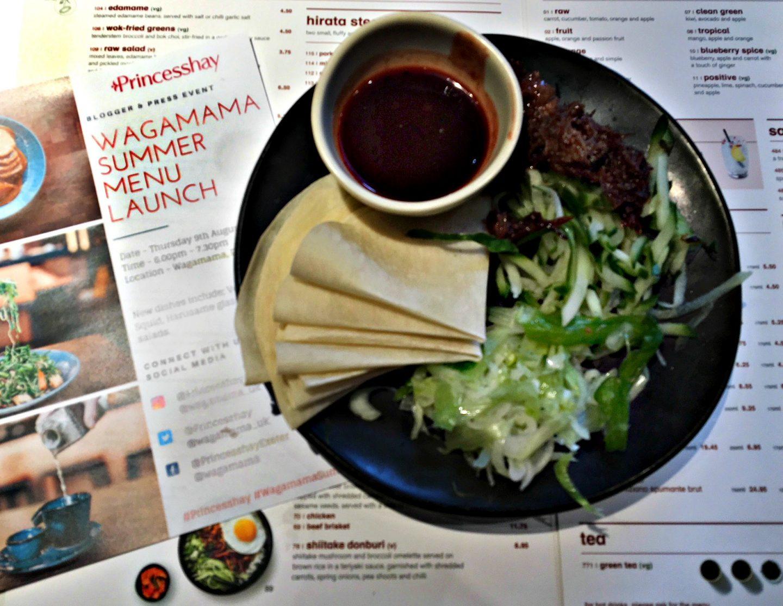 Wagamama summer menu