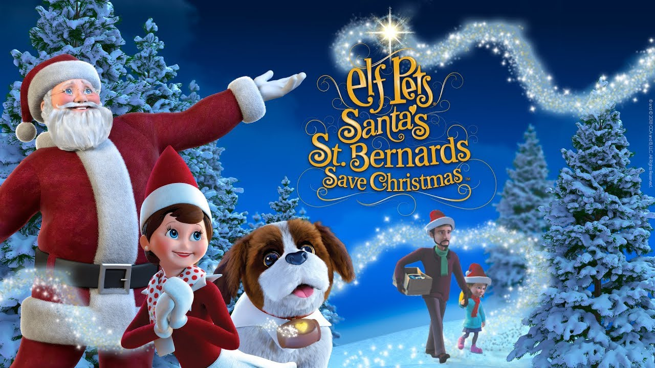 Elf Pets : Santa's St Bernard's Save Christmas