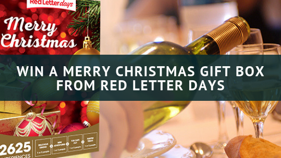 Red Letter Days Merry Christmas Gift Box