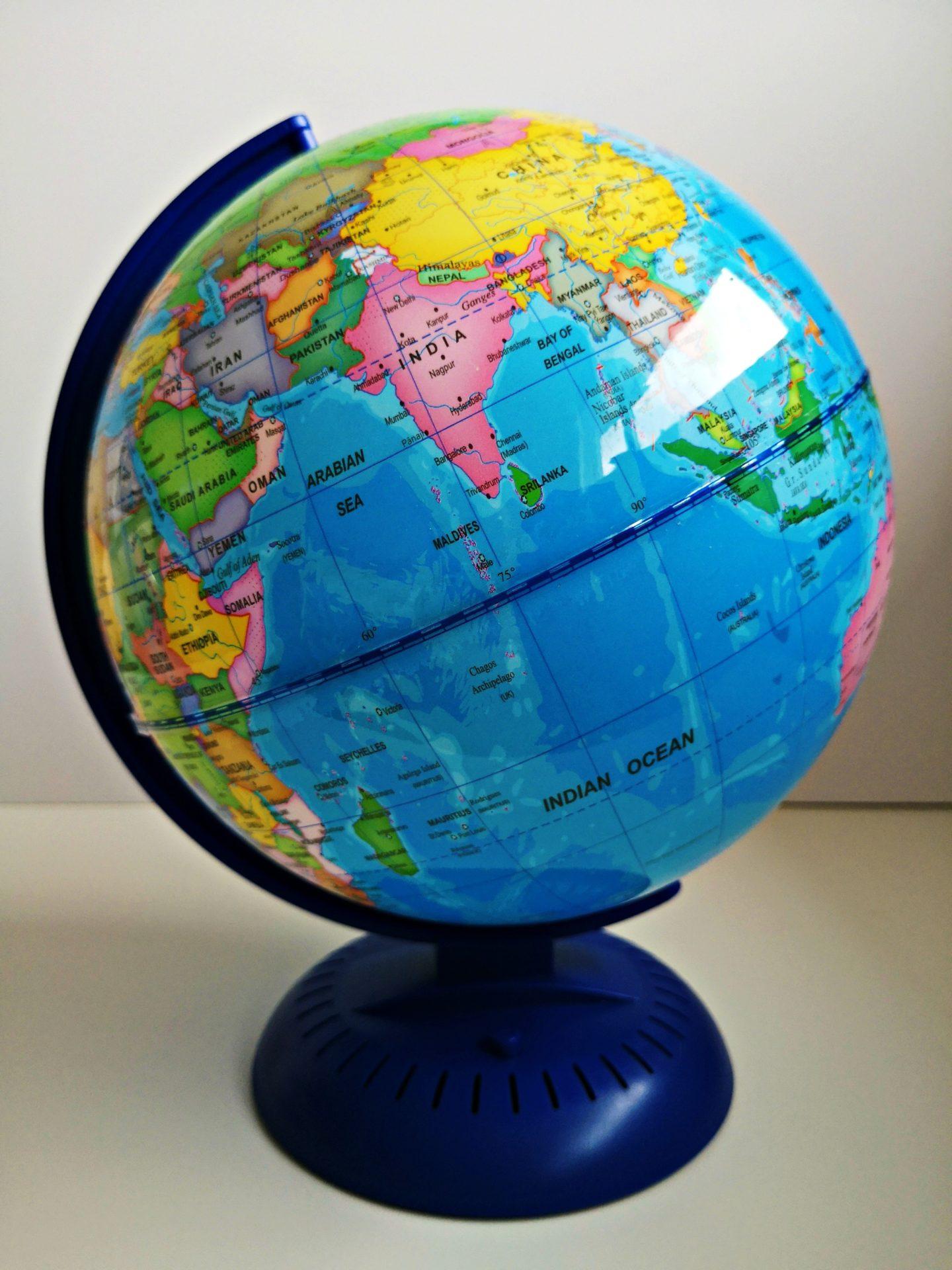 Nightlight illuminated Globe