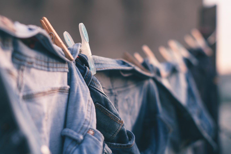 Washing drying in Spring